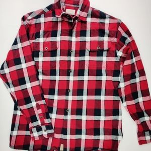Jachs New York Brawny Flannel Button Up Sz. XLT